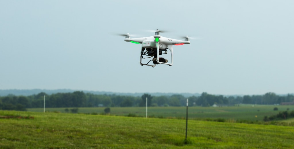 UAV agricultural surveys