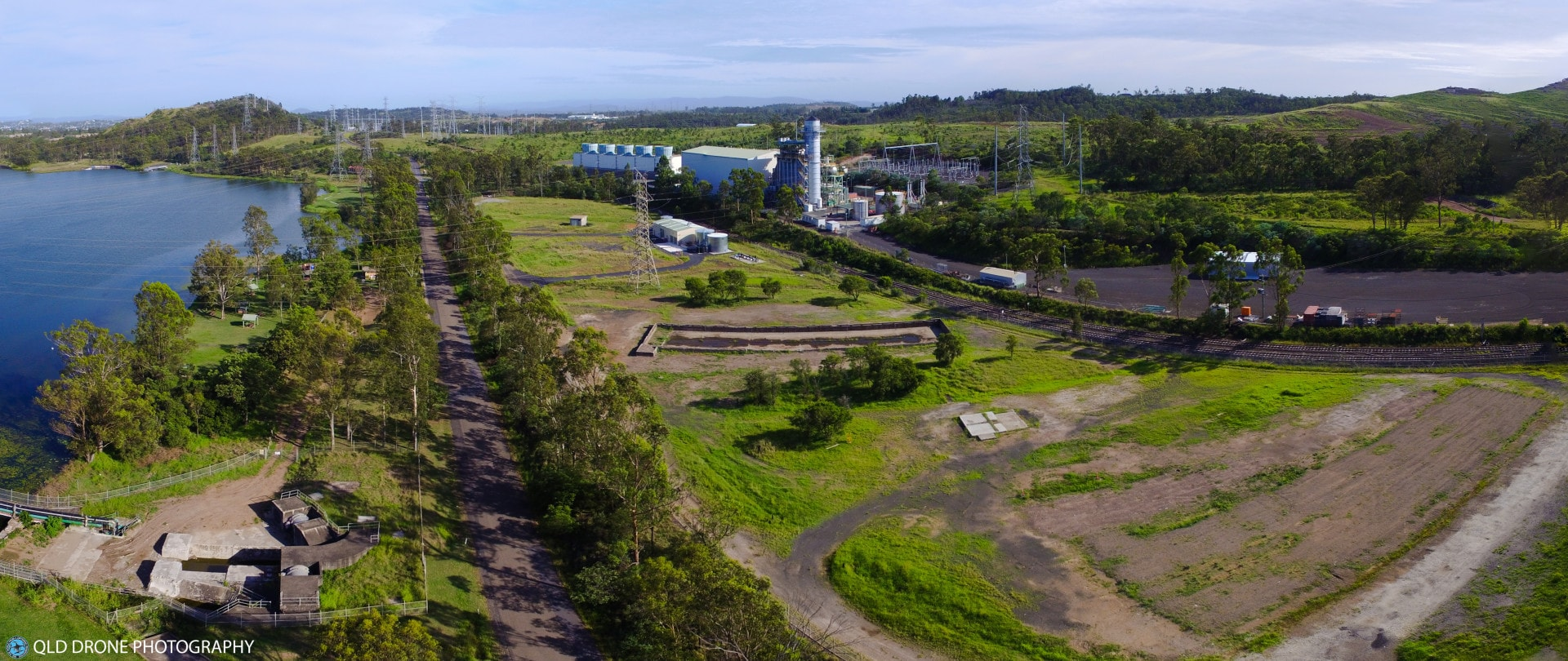 Aerial photograph of Swanbank