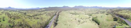 Main Range aerial photo