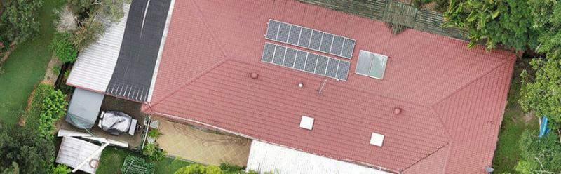 drone roof inspection orthomosaic
